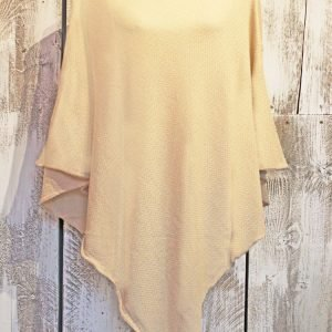 Soft Cream Poncho