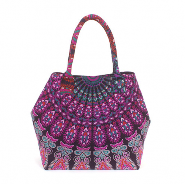 purple mandala bag