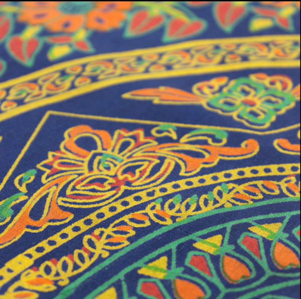 brahma throw detail